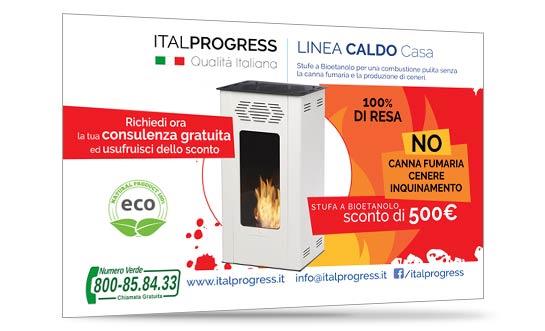 Sconto per la Stufa a Bioetanolo - ItalProgress