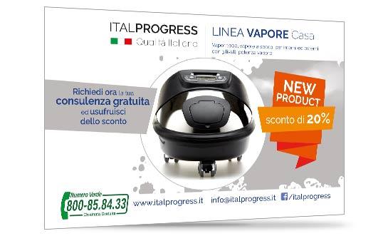 Sconto per Vapor1000 il Vapore a secco - ItalProgress